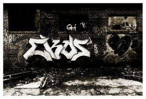 Brickworks Graffiti by Oliver-Sherret