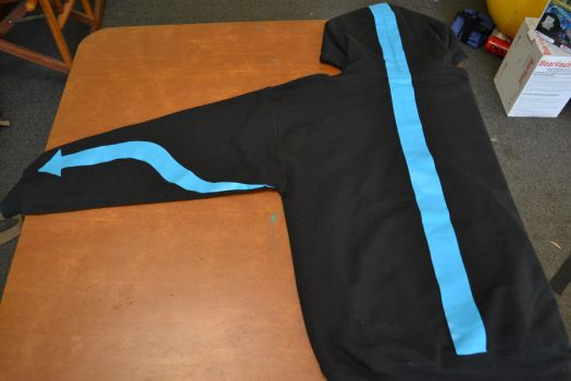 Avatar Aang Hoodie: back by Ourobouros434