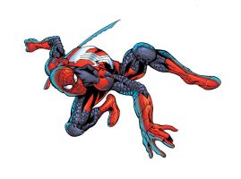 Ninja Spiderman by Shugga