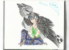 Eris and Talon by AmericanBlackSerpent