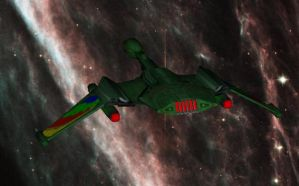 Romulan Brightwing destroyer 2 by falcon01