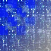 Blue Colorful background by fudins