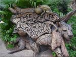 Tree of Life Garden SignAK WDW by WDWParksGal