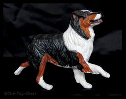 Breyer Companion Animals - Australian Shepherd by The-Toy-Chest