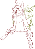 W.I.P Partners in crime by Rexbn