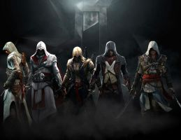 Assassins Creed: Assassins Unite by GingerJMEZ