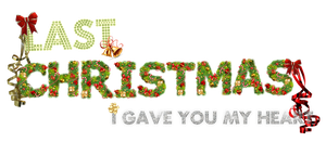 Texto PNG! Last Christmas by Momowhorland