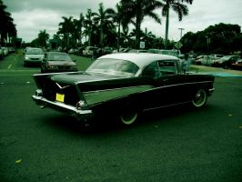 1957 Chevy Bel Air rear by Mister-Lou