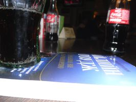 book and coca cola by torrye357