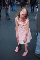 Zombie Girl by Fearless-Zombie