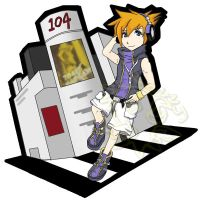 TWEWY Neku The World Ends With You by haleliwil