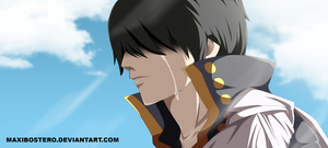 Zeref Namida Fairy tail 451 by Maxibostero