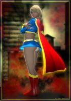 Supergirl... by benbischop