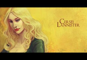 Cersei speedpainting - updated by Pojypojy