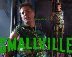 Smallville Green Arrow art 2006 - 2010 by cdpetee