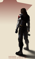 Bucky Barnes / Winter Soldier by PaintedKing