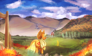 Sweet Apple Acre Nursery by BlindCoyote
