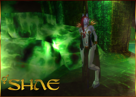 Draenei Shae - Green Mana - Second Life by Jace-Lethecus