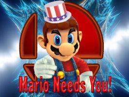 Mario Needs You! by SuperSmashBrosGmod