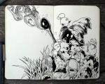 #319 Final Fantasy by 365-DaysOfDoodles