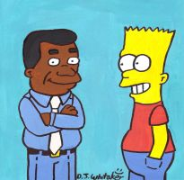 Bart and Gary Coleman by DJgames