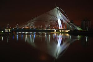 PutraJaya Bridge by Night by Nocturnatum