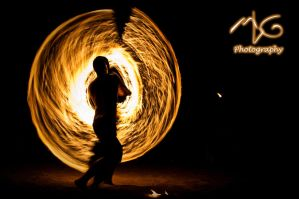 Cabo Fire Dancer by matthew83128