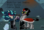 Mephiles and Sombra Plays by CyrilSmith
