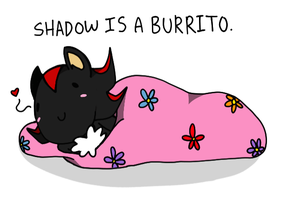 Burrito Shadow by Ghastlicious