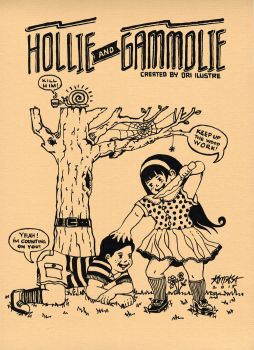 Hollie andd Gamolie by dri-ilustre