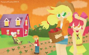 Welcome to Sweet Apple Acres by CaramelCookie