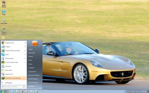 Ferrari-P540-Superfast-Apetra windows 7 theme by windowsthemes