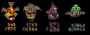 legend of zelda majoras mask boss remains by javierini
