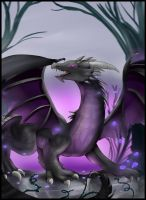 Comm: Everfree forest dragon by pridark