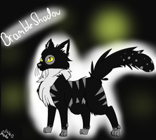 BrambleShadow - For WarriorCats-Are-Back by MagixSP
