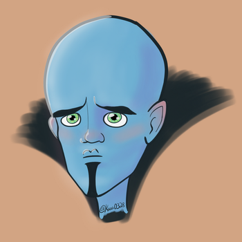 Dailies Day 168 - Megamind by Kaos0328
