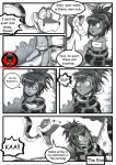 Kaa and Elena (My OC) comic Page 2 (COMMISSION) by RenaissanceOfChaos