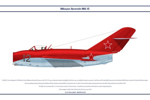 MiG-15 USSR 4 by WS-Clave