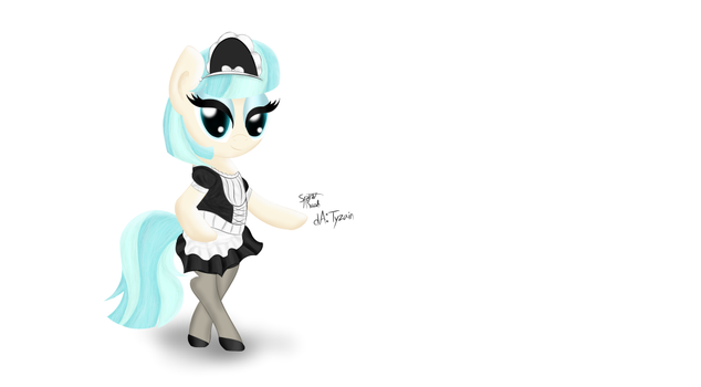 Coco Pommel Maid Outfit by Tyzain