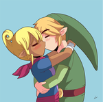 Smooch of Windy Victory? by Alulle