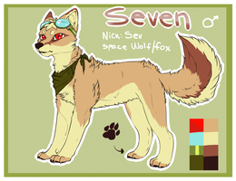 Seven reference sheet by Valkeera