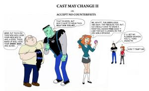 Cast May Change II by SilverLady7