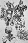old drawings on paper by randis
