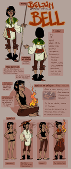 AtLA OC: BELL by AgentDax