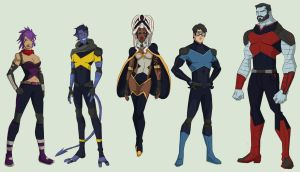 X-Men International by cspencey