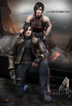 #Biohazard 4 SuperHD - Leon x Ada by DemonLeon3D