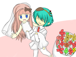 MoE- Happy engagement Bon and Henrietta~ by pengguchan