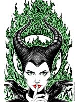Maleficent by Anastina91