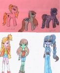 MLP Equestria Girls by PrincessNeko93