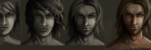 Face evolution practise by Chanuchi